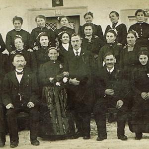 Hochzeit August Wehrmann - 1919/1920