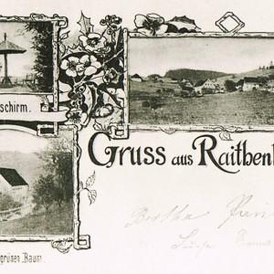 Grüße aus Raitenbuch - Postkarte