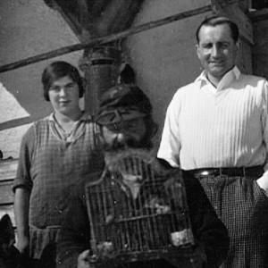 "Oskar Zipfel, Viehhirt vom ""Grünen Baum"" - 1930 - 1936"