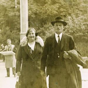 Julius und Berta Meier - 1936 in München