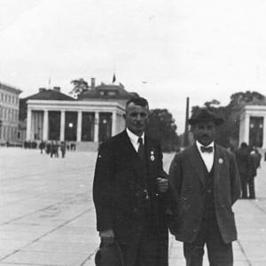 Julius Meier und Otto Keller in München 1936