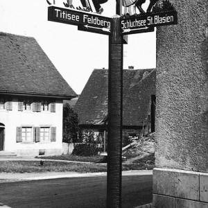 """""""Alter Eck"""" - Lenzkirch vor 1940"""