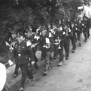 Feuerwehrfest in Lenzkirch um 1953