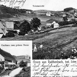 Gruss aus Raitenbuch - Postkarte