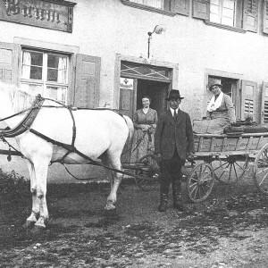 "1927 Gasthaus zum ""Grünen Baum"""
