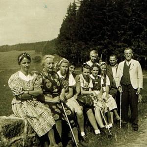 """Gäste vom """"Grünen Baum"""" - 1930"""