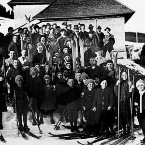Schülerskifest in Raitenbuch 1931