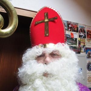 Weihnachtsmarkt-Nikolaus